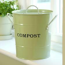 2 n 1 apple green compost bucket hayneedle