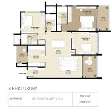 15 Central Park West Floor Plans by Srachi Park West By Shapoorji Pallonji Real Estate In Chamarajpet