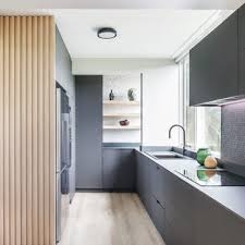 grey kitchen cabinets and black countertops 75 beautiful kitchen with brown cabinets and black