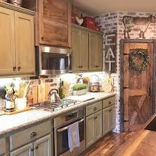 10 fabulous two tone kitchen cabinets ideas samoreals pin by wendy bolinger on home decor pinterest brick wall bedroom