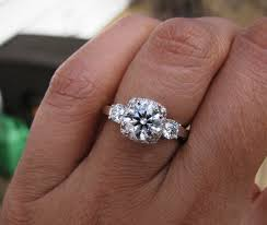 size 6 engagement ring show me your 1 1 5 carat engagement rings weddingbee