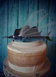 sports cake toppers marlin wedding cake topper sport