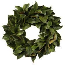 seymour botanicals magnolia leaf wreath reviews wayfair