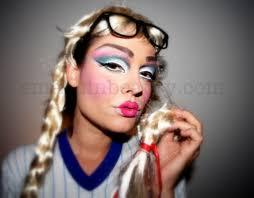 creepy doll costume scary doll makeup tutorial smashinbeauty