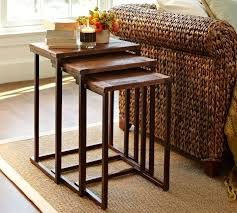 pottery barn nesting tables granger nesting tables 399 00 benches pinterest tables nest