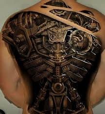 53 best biomechanical tattoos for men images on pinterest