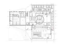 theatre floor plan gallery of kuopio city theatre ala architects 37