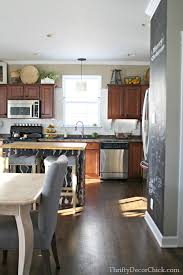 the kitchen redo plan from thrifty decor