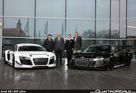 deliveries of the new audi r8 lms ultra begin quattroworld