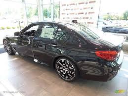 2018 black sapphire metallic bmw 5 series m550i xdrive sedan
