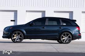 Audi Q7 Matte Black - gallery niche wheels