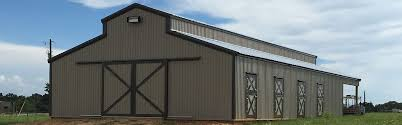 Pole Barns by Mule Shoe Barns U0026 Building Steel Pole And Metal Building Contractor