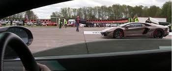 lamborghini aventador superleggera lamborghini aventador races gallardo superleggera to 185 mph
