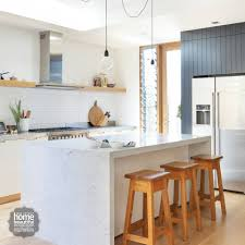 timber kicker and vj dark grey cupboard home beautiful magazine