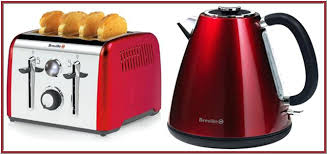 Red Kettle And Toaster Morphy Richards Accents Red Microwave Microwave Baked Potato
