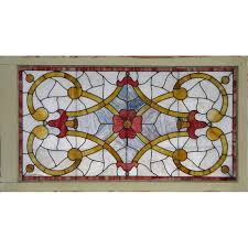 leaded glass door repair antique stained glass