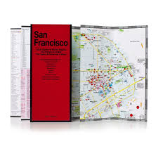 Sf District Map City Guides To Los Angeles And San Francisco By Red Maps