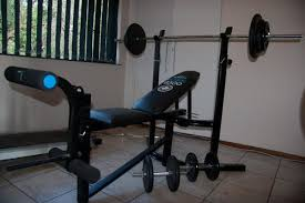 bench press 100kg home gyms bench press home gym 100kg weights was sold for r2