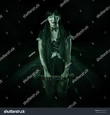 halloween horror nights coupons halloween horror scary blurred bloody woman stock photo 222514879
