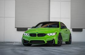 green bmw m4 java green f82 m4 brixton forged wheels