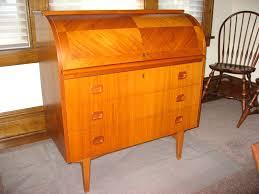 teak roll top desk red telly mid century swedish teak roll top desk aka blix