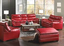 Best Kimbrells Furniture Images On Pinterest Appliances - Red leather living room set