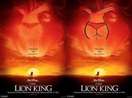 Make A Meme Poster - butts make everything better the lion king know your meme