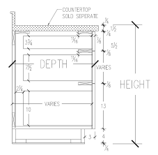 Standard Kitchen Base Cabinet Height 21 Best Inspiration Codes Regulations Standards Images On