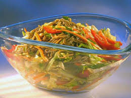 noodle salad recipes dang cold asian noodle salad recipe guy fieri food network