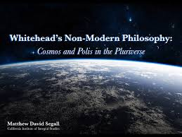 whitehead u0027s non modern philosophy cosmos and polis in the