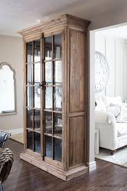 best 25 glass door bookcase ideas on pinterest display cabinets