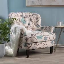 upholstered club chair nailhead chair ebay