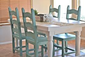 Dining Room Table Makeover Paddington Way - Painting a dining room table