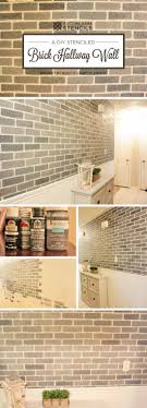 bathroom wall stencil ideas 17 best ideas about stenciled accent walls on chevron