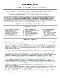 pharmaceutical sales resume pharmaceutical sales resume exle