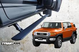 toyota fj cruiser retractable power step toyota fj cruiser tyrant 4 4 accessories