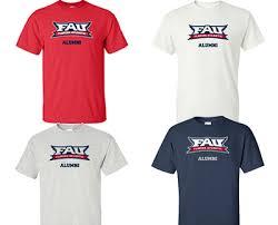 alumni tshirt fau alumni t shirt