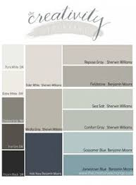 calm coastal paint colors color palette monday coastal paint