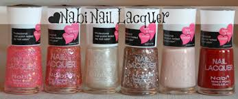 my nail graffiti nabi nail lacquer swatches and review