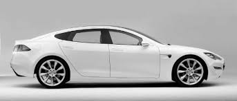 model s morphing from concept car to production version gif