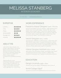 modern resume template jospar