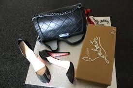 chanel handbag and louboutin shoes birthday cake bespoke