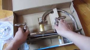 Kitchen Faucet Chrome Moen Caldwell Kitchen Faucet Chrome Model Ca87888 Unboxing Youtube
