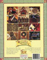 12 days of christmas by debbie mumm quilting u0026 craft projects
