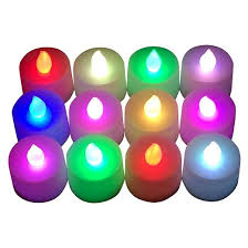 Led Light Color 12ct Color Changing Battery Operated Led Tea Lights Target