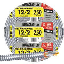 Southwire In Wall Digital 7 by Southwire 12 2 Steel Armored Cable 55274901 Juergens Hardware