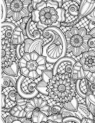 coloring page design abstract art coloring pages free printable abstract coloring