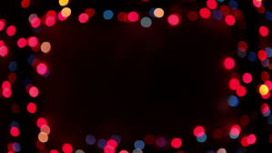blinking frame with bokeh lights hd 1080p loop stock footage