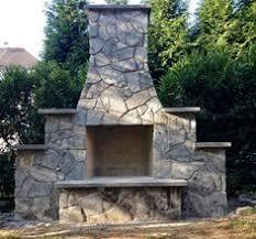 Firerock Masonry Fireplace Kits by 30 In Firerock Arched Masonry Outdoor Wood Burning Fireplace