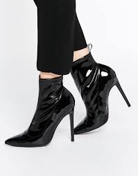 womens boots uk asos asos envision pointed sock boots socks